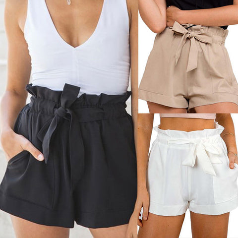 Summer Shorts Beach High Waist Short