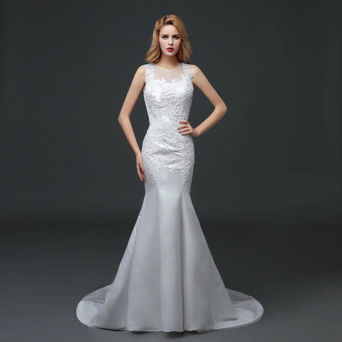 Women Mermaid Bridal Dress