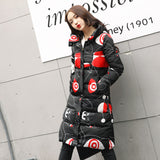 Women snow wear cotton padded outerwear