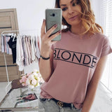 Womens Short Sleeve Basic Tee Shirt