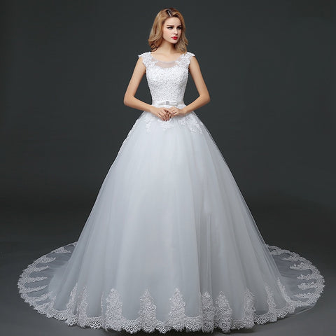 Luxurious Sweet Women Wedding  Bridal Dress