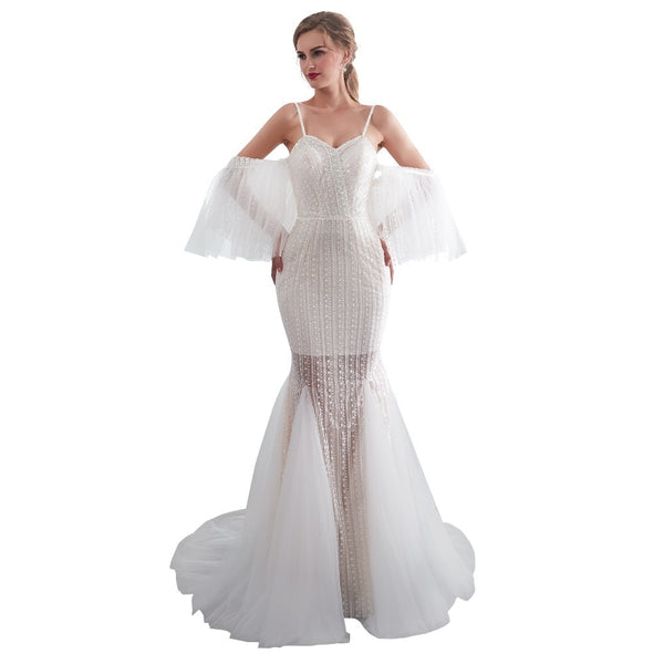 Women Mermaid Wedding Dress