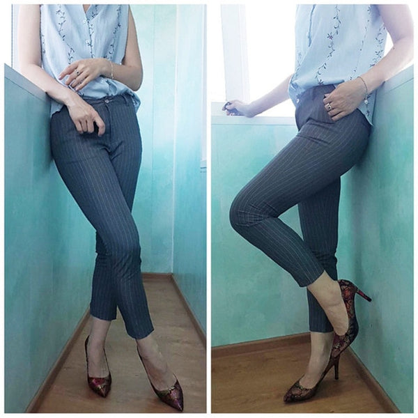 Women Skinny Cotton Pant