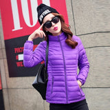 Fashion thicken parkas female overcoat