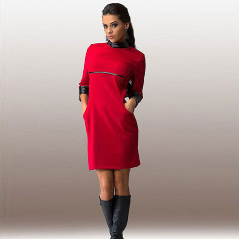 Fashion Autumn Winter Women Dress