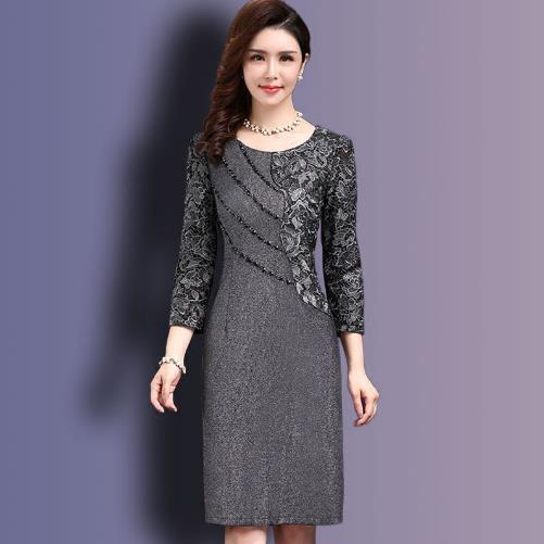 Autumn Women Elegant Winter Dresses