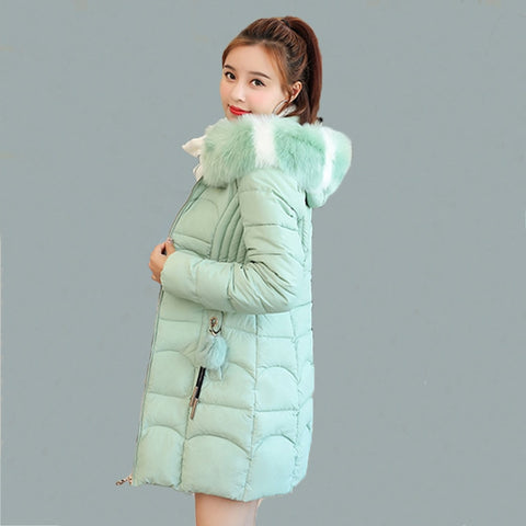 Women Down Jacket Women Thick Snow Wear