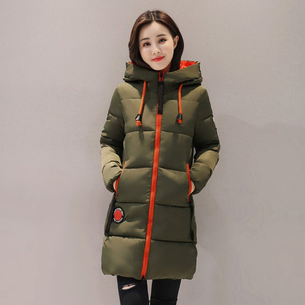Women Hooded Female Outwear Coat