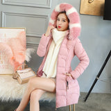 Women Slim Coat Female Wadded Jackets