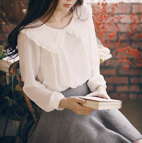 Women Casual Sweet Spring Blouse Tops