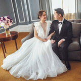 Fashion White Wedding Dress For Women