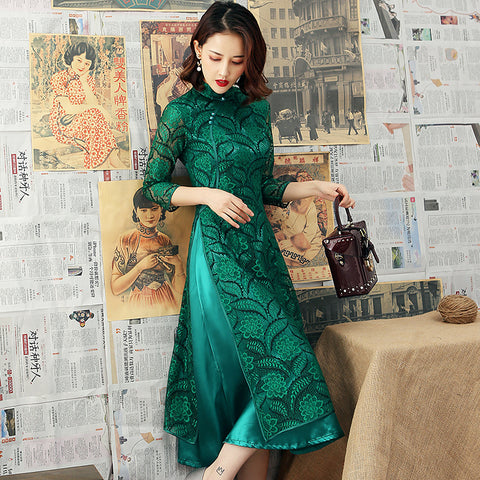 Chinese Traditional Women Dress