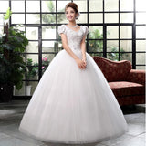 Crystal Gorgeous Women Marriage Dresses