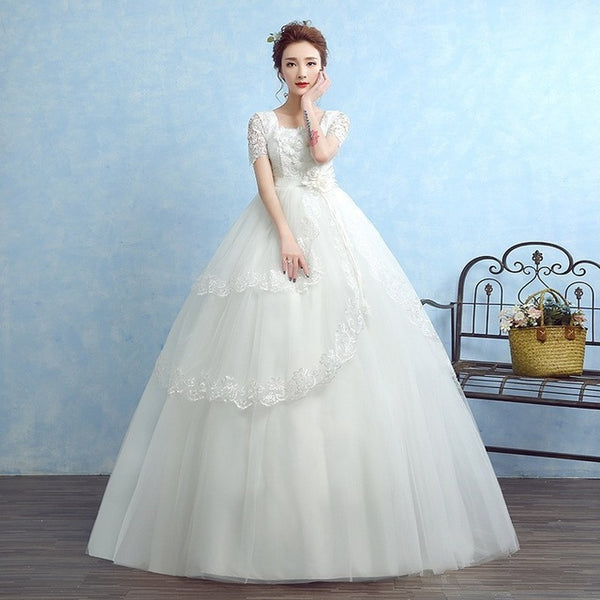 New Flower Wedding Dresses
