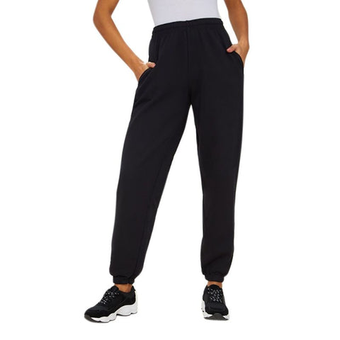 High Waist Beam Foot Elastic Long Sporting Pants