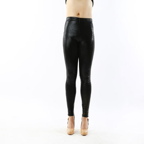 Women bottoms high elastic pants