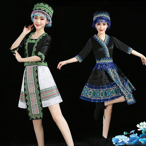 Women  traditional folk dance wear