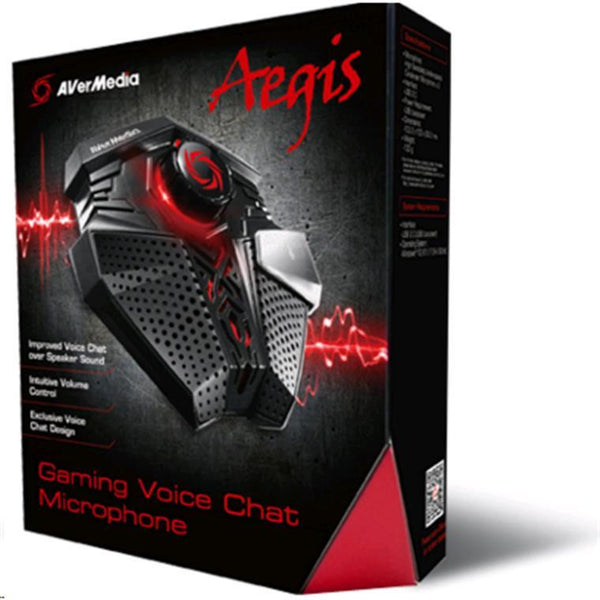 AVerMedia Gaming Microphone Aegis 電容式專業USB收音麥克風
