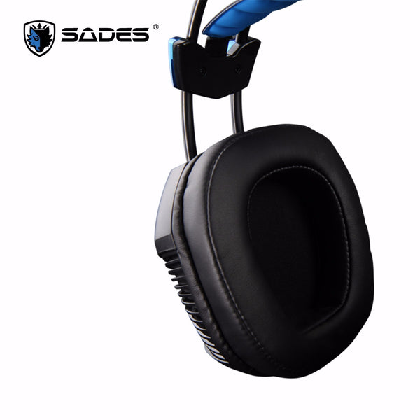 Sades Xpower Plus USB震動遊戲耳機