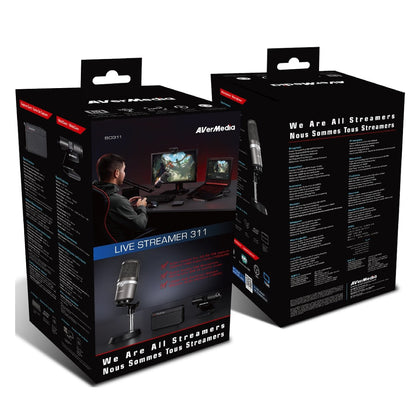 AVerMedia Streamer/Youtube Starter Kit 直播組合套裝