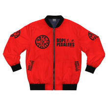 Load image into Gallery viewer, Dope Pedalers RED Bomber Jacket