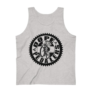 Dope Pedalers Logo Men's Ultra Cotton Tank Top