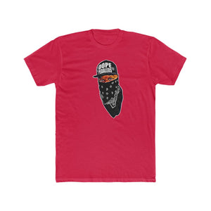Dope Pedalers Mask On Men's Cotton Crew Tee