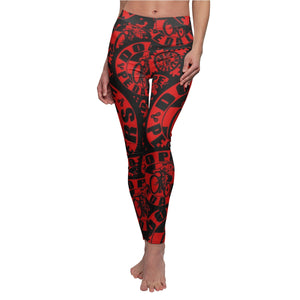 Dope Pedalers Logo Women's Cut & Sew Casual Leggings