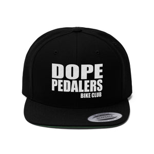 Dope Pedalers Unisex Flat Bill Hat