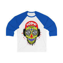 Load image into Gallery viewer, Dope Skulls Unisex 3/4 Sleeve Baseball Tee