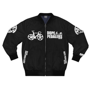 Men's BLACK Bomber Jacket