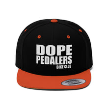 Load image into Gallery viewer, Dope Pedalers Unisex Flat Bill Hat