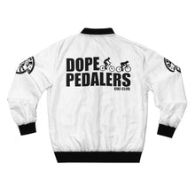 Load image into Gallery viewer, Dope Pedalers Bomber Jacket