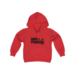Dope Pedalers Lil Riders Logo Youth Heavy Blend Hooded Sweatshirt