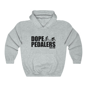 Dope Pedalers Bike Club Unisex Heavy Blend™ Hooded Sweatshirt
