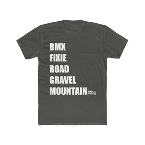 BIKE TYPE Men's Cotton Crew Tee