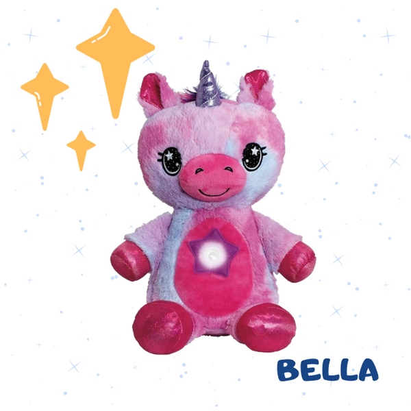 DOUDIZ STAR BELLY: LA PELUCHE VEILLEUSE
