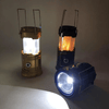 AvenueDuBuzz Flogy™ - 3-in-1 Camping Lantern - Portable Outdoor LED Flame Lantern Flashlight