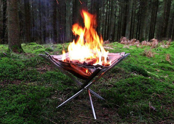 AvenueDuBuzz PORTABLE CAMPFIRE FOR CAMPING