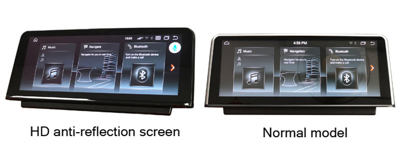 Anti-reflection screen is available for android BMW Navigation system