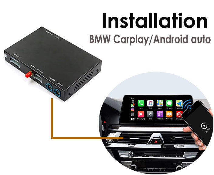 BMW Apple Carplay Android Auto Retrofit Installation Guide