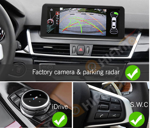 OEM Android Navigation support ALL BMW factory functions- Radio IDrive S.W.C