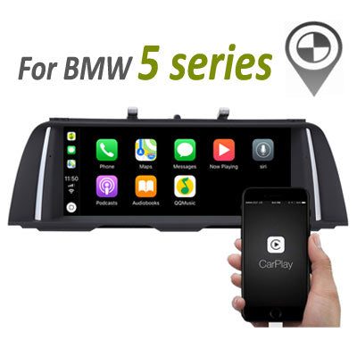 bmw 5 series navigation android screen