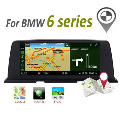 android bmw 6 series navigtion gps