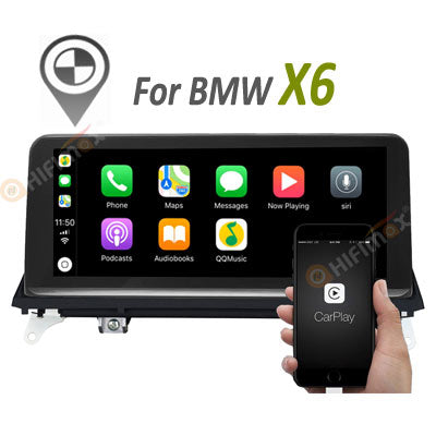 android bmw x6 sat navi system