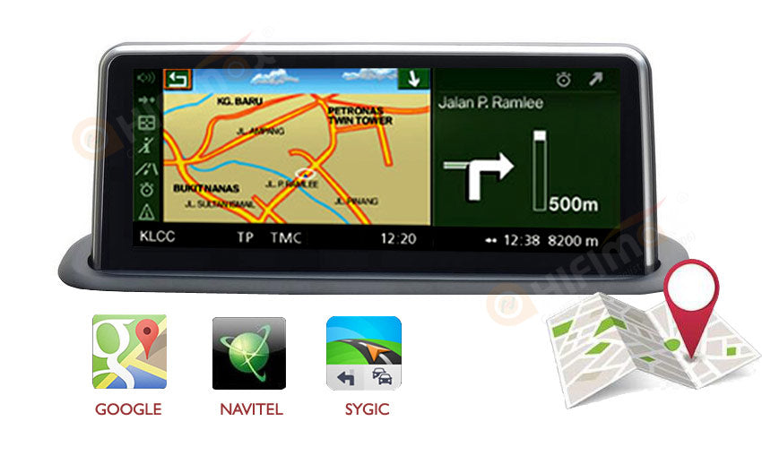 bmw x5 e53 navigation head unit support google map,sygic,navitel ,waze etc