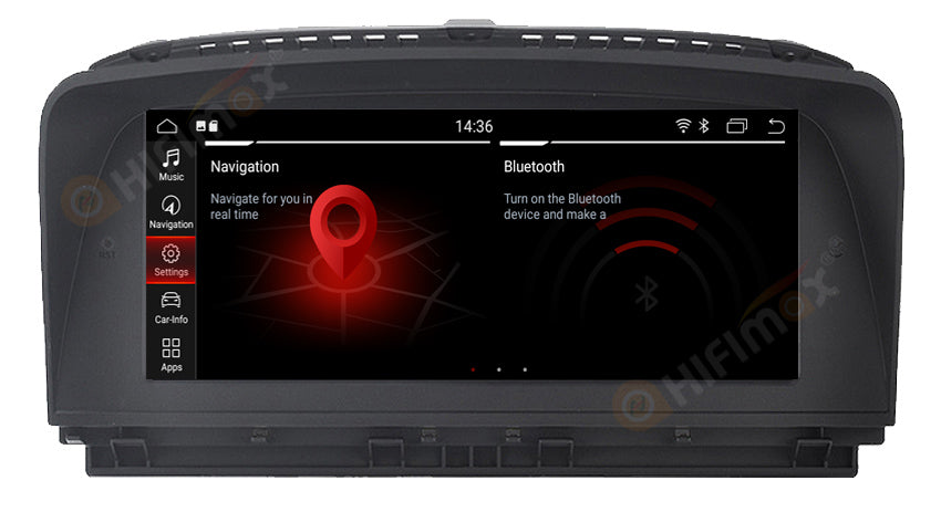 8 8 inch Android BMW 7 series Navigation Head unit GPS for BMW 7 E65 E66  2004-2009 - Hifimax BMW Navigation