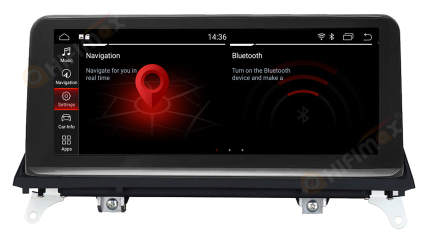 android navigation gps for bmw x5 x6 -with latest id7 menu