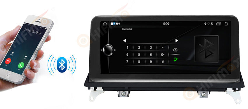 bmw x5 x6 navigation gps support bluetooth Hands-Free Calling and Audio Streaming