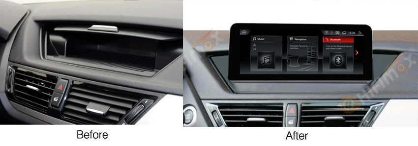 compatible with bmw x1 without factory screen